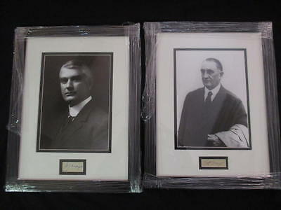 Dr. William Dr. Charles Mayo Clinic Founders Signed Auto 8x10 Photo JSA COA