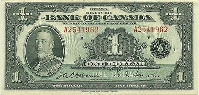 Bank Of Canada $1 1935 English Issue - King George V - Super Crisp & Fresh Note