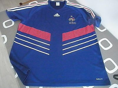 Maillot Shirt France Home 2010 taille XL