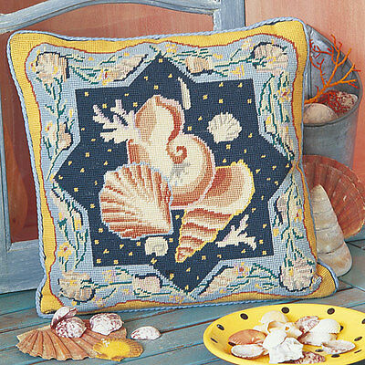 EHRMAN 1989 SHELLS by SUSAN SKEEN NEEDLEPOINT TAPESTRY KIT - DISCONTINUED