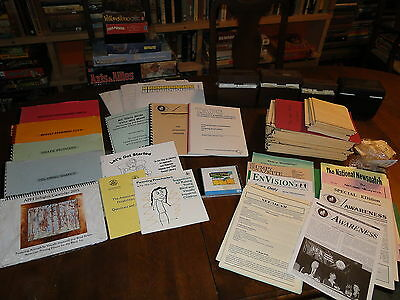 LARGE Lot of Braille Literacy Blind Visually Impaired Reading Math Materials