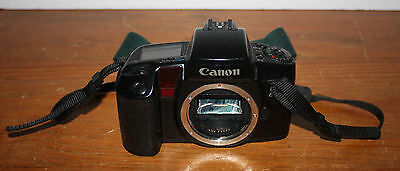 Canon EOS ELAN 35mm Film SLR Camera, Body ONLY, Black with Manual