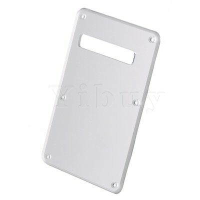 Acrylic Back Guitar Tremolo Spring Cavity Cover 1ply Rear Scratch Plate