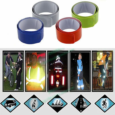 Night Reflective Wrist Band Arm Ankle Belt Strap Cycling Running Sports Novelty