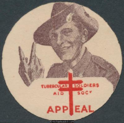 1952 Tubercular Soldiers' Aid Society Appeal disc