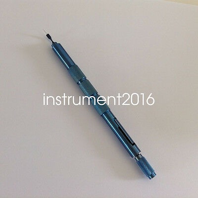 sapphire Crescent blade 2.0mm titanium handle ophthalmic eye surgical instrument