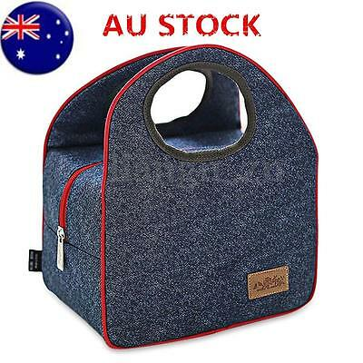 Portable Insulated Oxford Cloth Thermal Travel Camping Picnic Tote Lunch Bag New