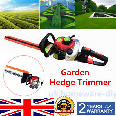 Gasoline Powered 2-Stroke Hedge Trimmer / 22.5 cc Air-Cooled Garden Chainsaw