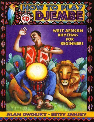How to Play Djembe Book & CD West African Rhythms for Beginners