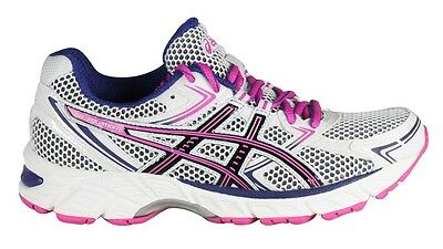 Asics Women's GEL-Equation 7 Underpronation Running Shoes - White/Black/Hot Pink