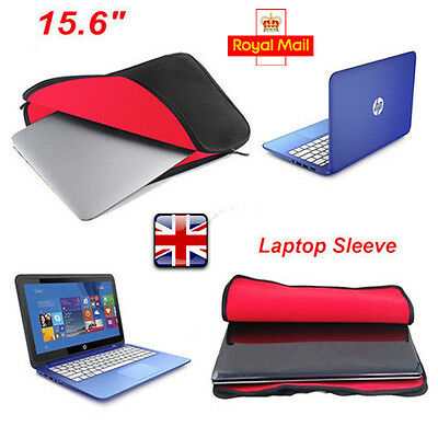 """15.6"""" Inch Laptop Sleeve Bag Carry Case Cover Apple Sony DELL Acer HP Toshiba UK"""