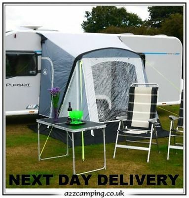 New 2017 spec Sunncamp Swift 220 Air Caravan Porch Awning With Rear Upright Pads