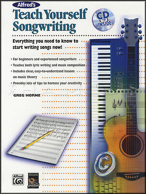 Teach Yourself Songwriting Sheet Music Book with CD Learn To Write Songs