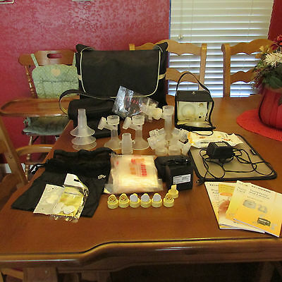 MEDELA Electric Breast Pump In Style Advanced plus extras
