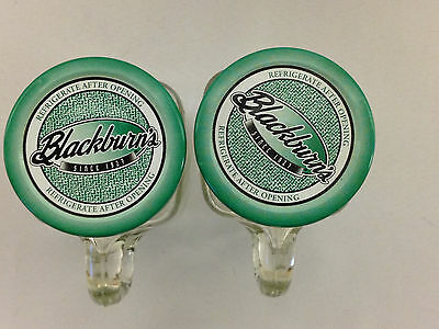 Lot Of 2 Vintage Collectible Blackburn's Jelly Jar Mugs