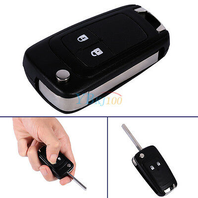 2 Buttons Remote Key Fob Shell Case keyless For Vauxhall Opel Astra Insignia Hot