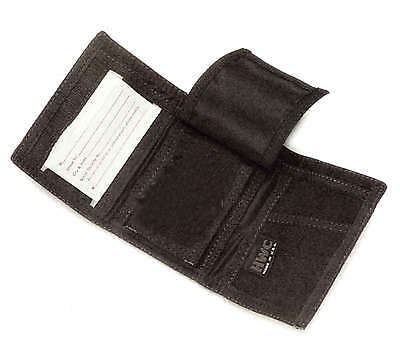 Hwc Police Emt Ems Nylon Tri Fold Badge Holder Id Wallet Student Id Security