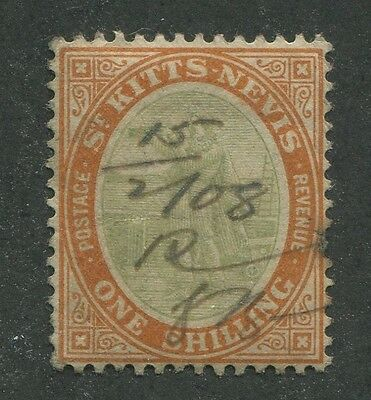 St. Kitts & Nevis #20 Used