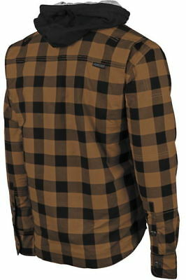 Speed and Strength Standard Supply Reinforced Moto Shirt Brown - Lg *884234