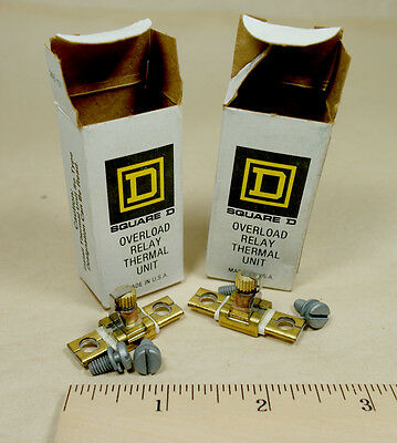 Lot of 2 SQUARE D Overload Relay Thermal Unit A3.95, NIB NOS