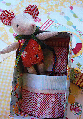 PATTERN - Mouse in a Matchbox - fun little toy PATTERN - May Blossom
