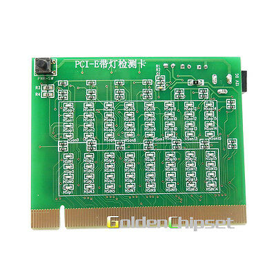 Motherboard PCI-E Test Card Tester PCI Express 16X Slot Test Card with indicator