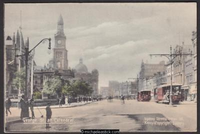 George St at Anglican Cathedral, Sydney