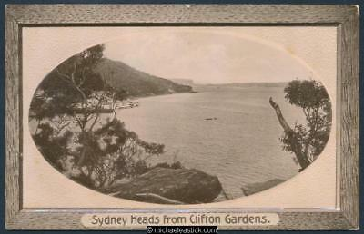 Sydney. The Heads from Clifton Gardens.