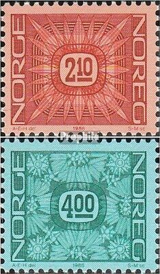 Norway 942-943 mint never hinged mnh 1986 Drawing numbers