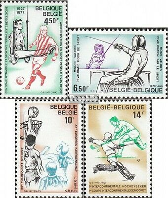 Belgium 1915-1918 mint never hinged mnh 1977 Workers-Gymnastics- and Sportzentra