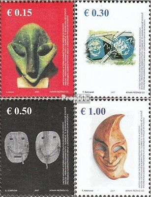 kosovo (UN-Administration) 79-82 mint never hinged mnh 2007 Masks