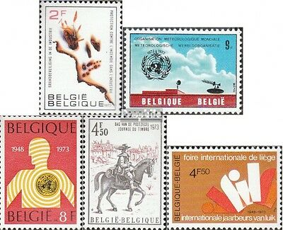 Belgium 1713x,1714,1720,1721,1724 mint never hinged mnh 1973 special stamps