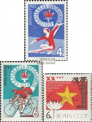 Soviet-Union 3105-3106 (complete issue) unmounted mint / never hinged 1965 Schül