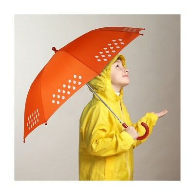 Suck UK Kids Colour Changing Umbrella Red Rainbow Drops Cool Fun Different Gift