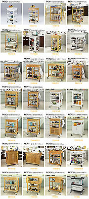 SoBuy ® Kitchen Trolley with Shelves & Drawers, Kitchen Cart, FKW, UK
