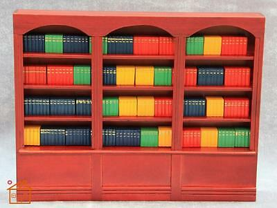 1:12 Cute MINI Dollhouse Miniature bookshelf cabinet