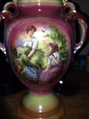 Vintage Porcelain Collectible Decorative Urn