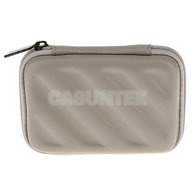 Rugged Carry Case For Bands Cable/ USB Sticks Hard Drive/ Memory Card Silver