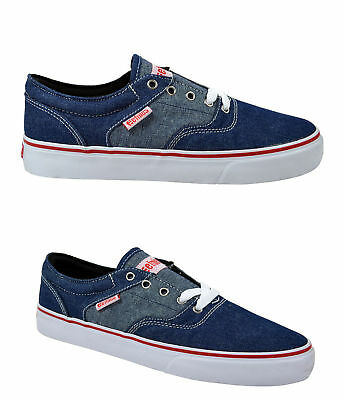 Etnies Fairfax SMU denim blue/red/white Jeans Sneaker/Schuhe blau/rot