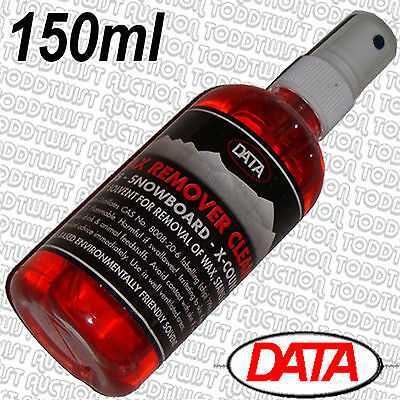 DATA - Wax Remover - Snowboard Base & Ski Cleaner 150ml