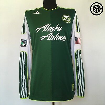 PORTLAND TIMBERS MLS Player Issue Football Soccer Shirt Jersey 2011/13 (L) USA