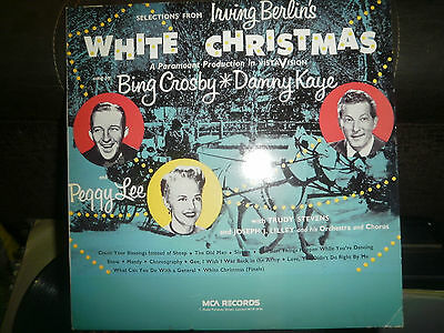 Irving Berlin's WHITE CHRISTMAS MCA RECORDS MCL 1777 LP