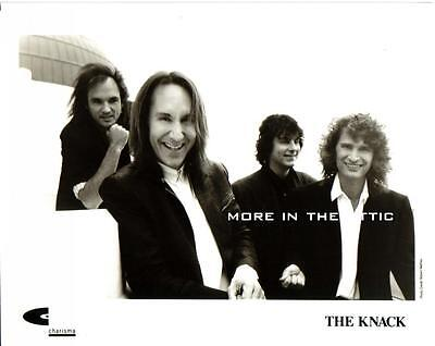 The Knack Rare Later Charisma Rock N Roll Portrait Photo