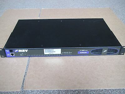 MRV In-Reach LX Series LX-8020S-102AC-R  20-Port Dual AC PSU Terminal Server