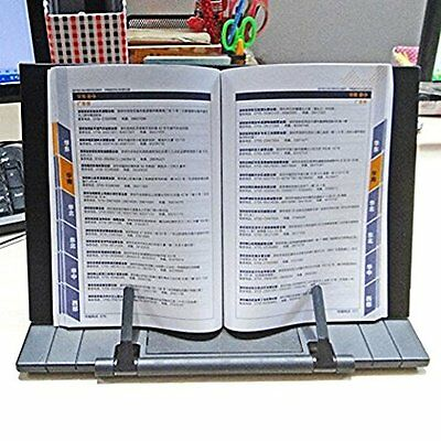 Bookstand Laptop/Cookbook/Music/Document Stand Holder Reading 7 Position Adjust