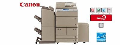 Canon ImageRunner Advance 6255 Black Copier Printer Laser Scan 55PPM All-in-one