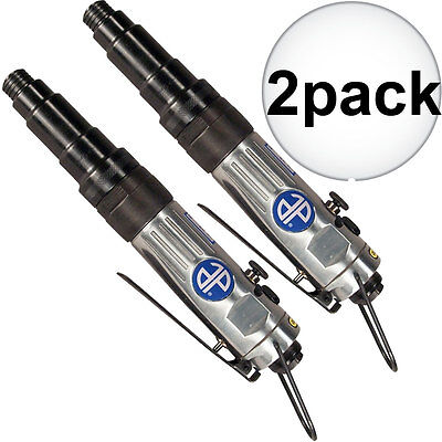 "2pk 1/4"" Straight Type Reversible Pneumatic Screwdriver Astro Pneumatic 800T New"