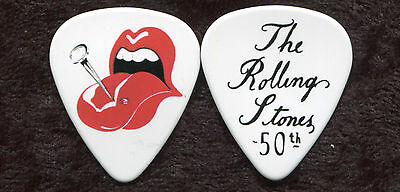 ROLLING STONES  Novelty Guitar Pick!!! 50th Anniversary #8