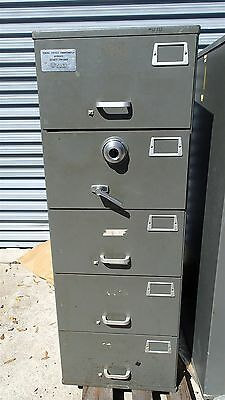 Mosler Sfc-5 Class 6 Security Filing Cabinet / Safe