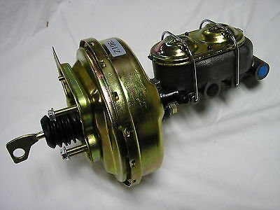 """1967 68 69 70 Ford Mustang 9/"""" Power Brake Booster w// Ford Style Master Cylinder"""